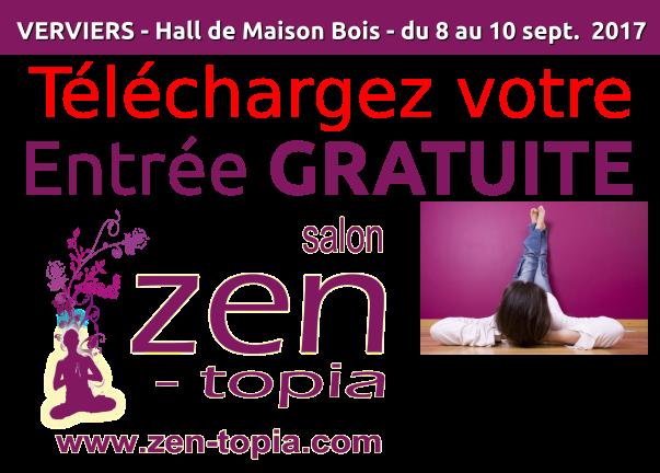 Zen topia salons du bien tre et du d veloppement for Salon du zen