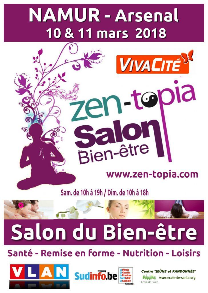 Zen topia salon du bien tre verviers bastogne for Salon du zen